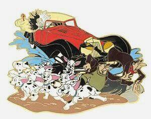Cruella Deville in Her Car | Fantasies Come True > Pins ... Cruella Deville Car Disney