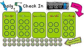 Daily 5 for the SMARTboard {FREE}