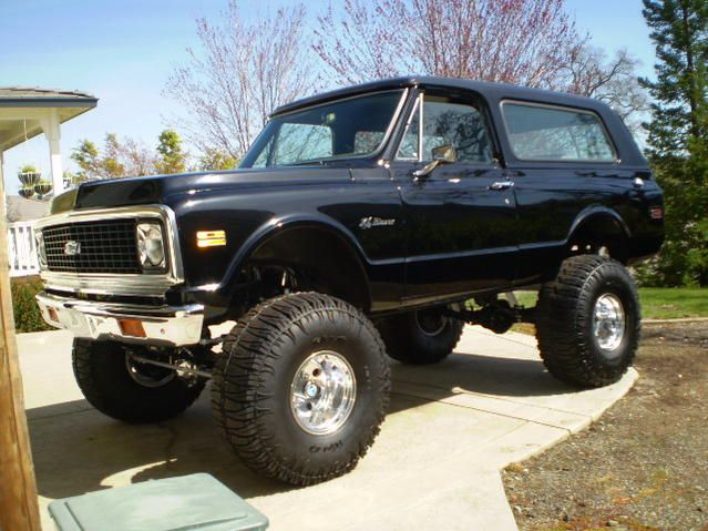Chevy K5 Blazer I miss my Bear