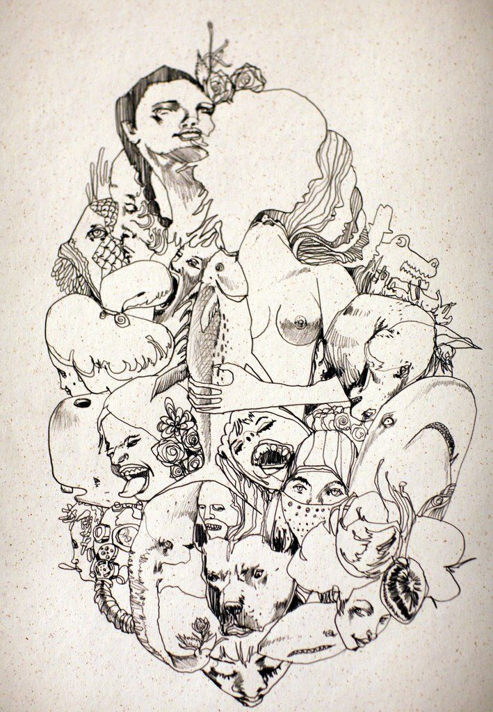 David Choe Drawing Art
