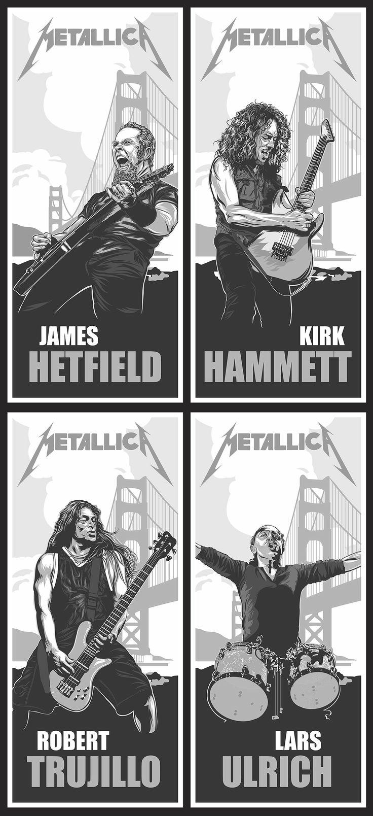 El equipo Metallica.