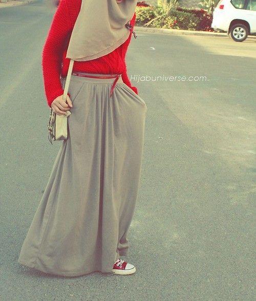 Street Hijab Fashion | via Tumblr