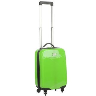 No Fear Four Wheel 18inch Suitcase #cabinsuitcase http://www.mrluggage.com/no-fear-4-wheel-suitcase-lime-708229