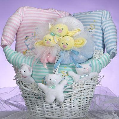 triplets catchastar baby shower gift basket free shipping