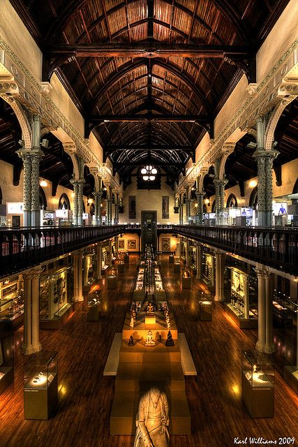 The Hunterian Museum, Glasgow University - Scotland