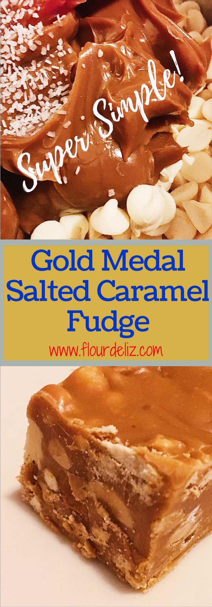 Gold Medal Salted Caramel Fudge
