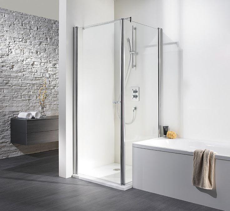 HSK Duschkabinenbau KG | Exklusiv - Drehtür mit wegschwenkbarer Seitenwand