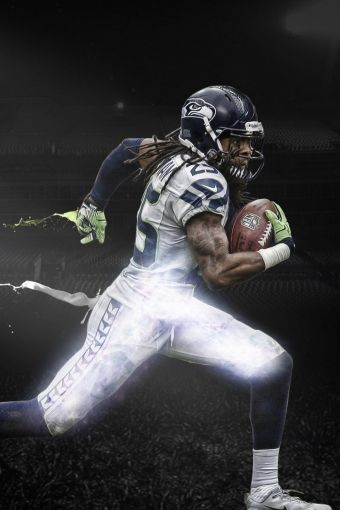 Richard Sherman - cornerback for the Seattle Seahawks of the National Football League.