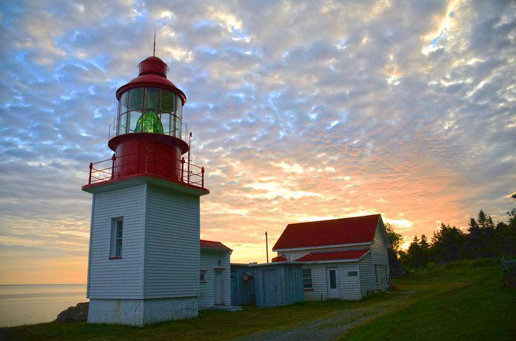 #Lighthouse - Le #phare de Cap Chat - Cap Chat, Quebec - #Canada http://dennisharper.lnf.com/