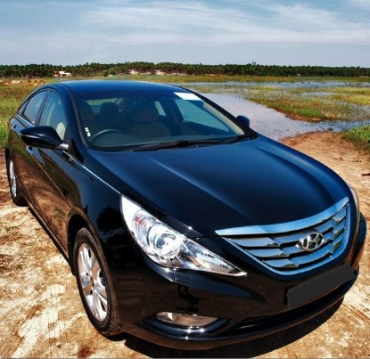 My new car!!! 2013 Hyndai Sonata with SOOO many hi-tech features. It does EVERYTHING!