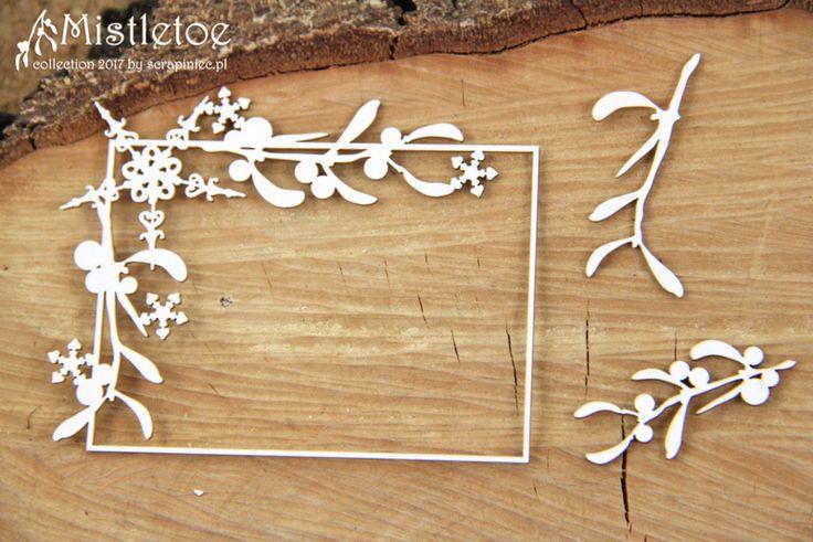 Mistletoe vierkant frame