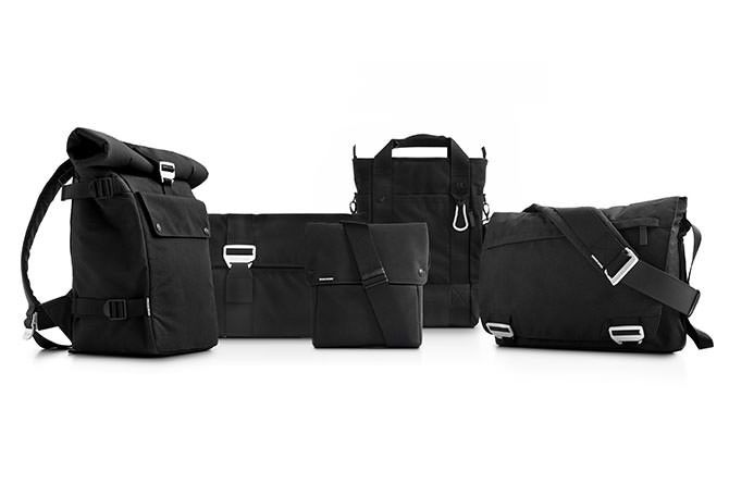Bluelounge's Eco-friendly bag line is made from PET recycled plastic bottles