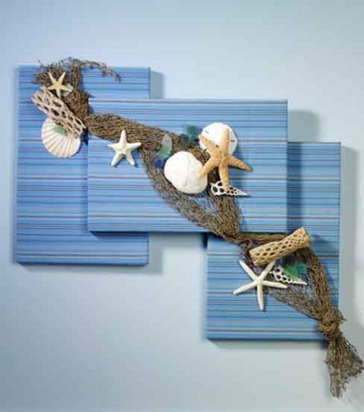 Summer On the Shore Wall Art - seashells