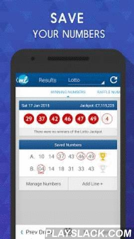 UK Lottery Results (UK Lotto)  Android App - playslack.com ,  Tired of waiting for Lotto Results? Get notified as soon as the latest results are available! We support the following UK Lottery games in one handy app:★ Lotto & Lotto Raffle Results★ EuroMillions & Millionaire Raffle Results★ Thunderball Results★ Lotto HotPicks Results★ The Health Lottery ResultsMAIN FEATURES:★ Latest and past draw results for all games, including a full prize breakdown!★ Save your Numbers - Have them checked…