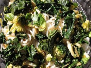 Easy Stir-Fried Broccoli and Brussels Sprouts   Recipe   Broccoli stir ...