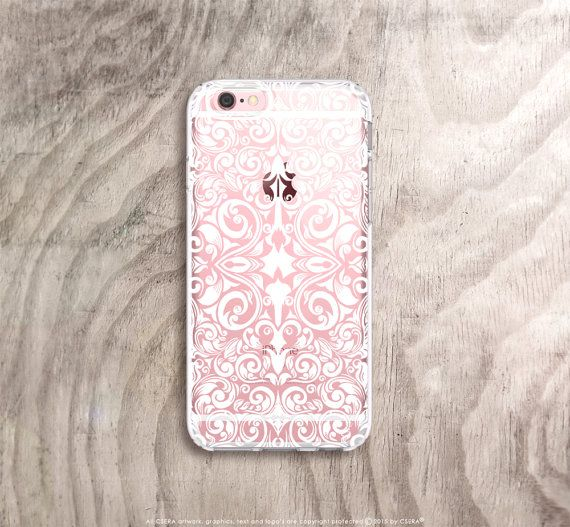 iPhone 6s Case Clear White iPhone 6s Plus Case Art by casesbycsera