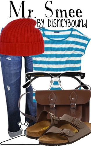 Mr Smee from Peter Pan inspired outfit by DisneyBound