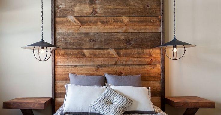 Ahşap Yatak Başlıkları ile Çarpıcı Yatak Odaları  Yatak odanıza dahil edeceğiniz basit bir ahşap yatak başlığı ile daha rahat ve huzurlu bir atmosfer oluşturabilirsiniz.