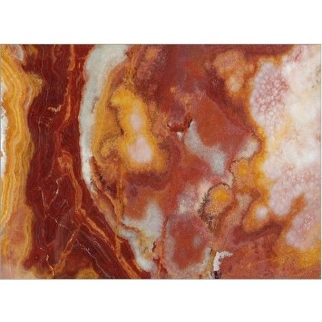 12 in. x 12 in. Multi Red Onyx Solid Polished Finish Flooring Tile #multi_red_onyx_tile #onyx_tiles #onyx_flooring_tile
