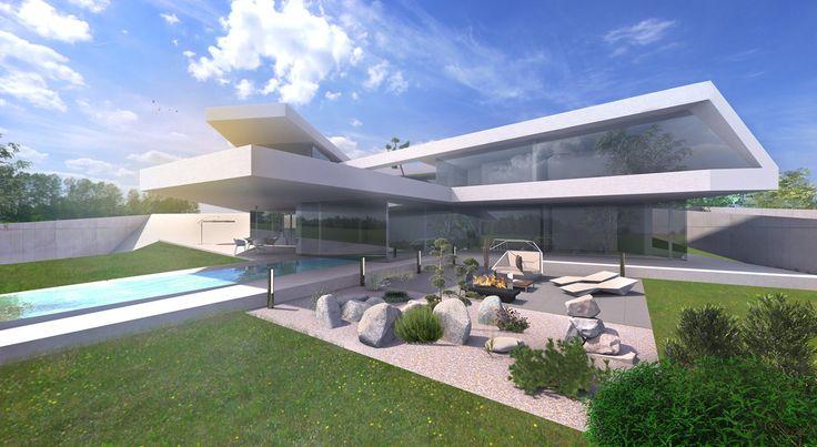 Die besten 10 bilder zu luxush user moderne architektur for Architektenhaus berlin
