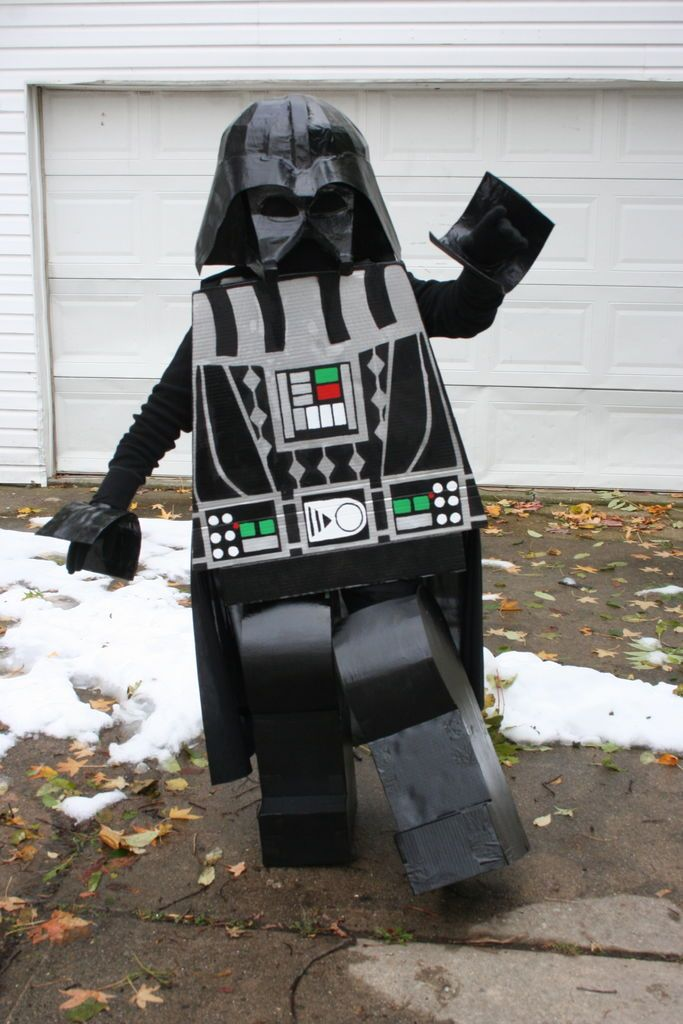 Lego Darth Vader costume....  This is great!