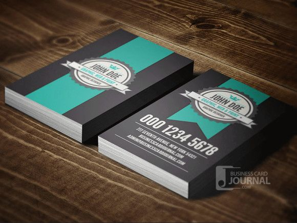 15 best business card images on pinterest business card design vertical business cards teal grey reheart Gallery
