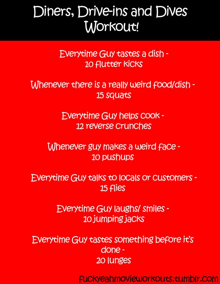 Diners Drive Ins And Dives Drinking Game