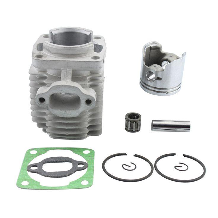 GOOFIT 40mm motorcycle Cylinder Piston Assembly Kit for 47cc 2 Stroke Engine Mini Quad ATV Pocket Dirt Bike K074-015-1