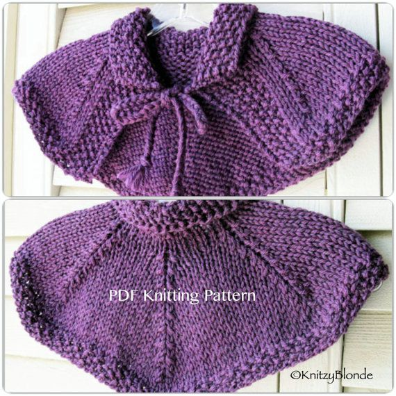 """This listing is for 1 Digital Download of a PDF Knitting Pattern in ENGLISH ONLY (no other languages). This listing is not for the finished Capelet. If you are looking to purchase the finished Capelet, click here: https://www.etsy.com/listing/242995446/claire-cape-capelet-shawl-outlander-hand  ~~~~~~~~~~~~~~~~~~~~~~~~~~~~~~~~~~~~~~~~~~  I designed this lovely Claires Hunt Capelet to be a replica of the one worn by Caitriona Balfe of the TV show """"Outlander"""". It is a sw..."""
