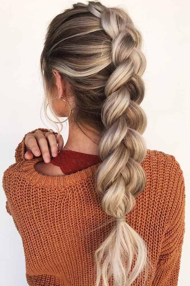 35 Balayage Haarfarbe Ideen für Brünette im Jahr 2019, Die Französisch Ha