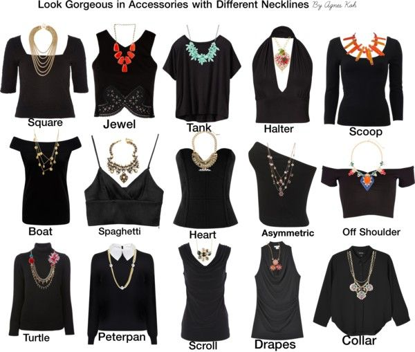 How to Match Necklaces with Different Necklines