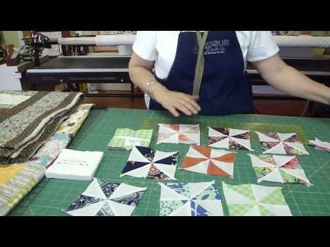 Video Tutorial: Fast and Easy Pinwheels