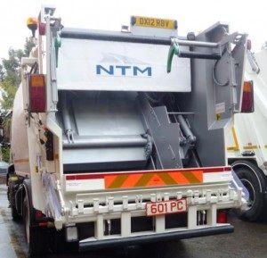NTM K-2K Małe zabudowy śmieciarek dwukomorowych do transportu dwóch rodzajów śmieci jednym pojazdem. Refuse truck, Recycling rear loader, garbage vehicles, Kommunalfahrzeuge, Benne a ordures, Recolectores, piccoli camion, Carico posteriore