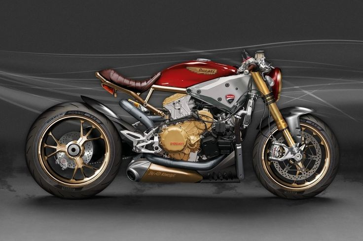Ducati 1299 Panigale Cafe-Racer-Konzept sieht so extrem aus wie es klingt