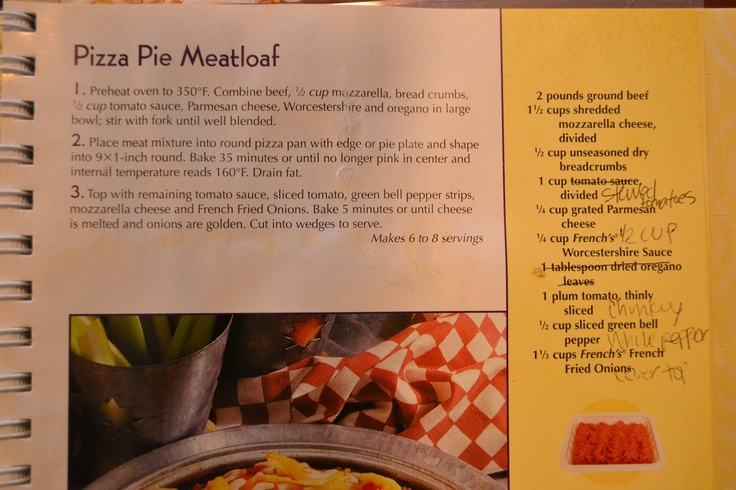 Him & Her: Pizza Pie Meatloaf