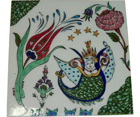 Çini Takılar,Osmanlı Tarzı, bakır işlemeli takı ve Çini hediyelik eşyalar