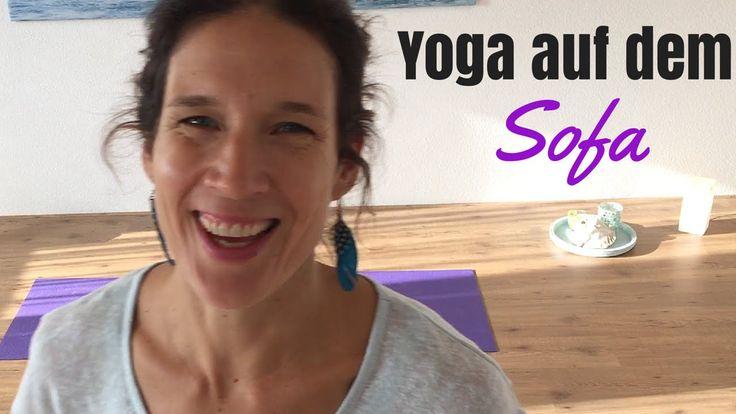 Yoga Übungen mit Yogalexa:Yoga auf dem Sofa_Yoga Zuhause_Yoga Zwischend...