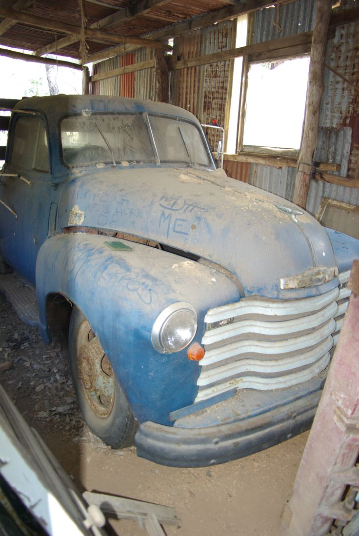 1949 Chevrolet table top barn find in Balingup W.A. Mine now!