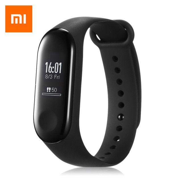 Original Xiaomi Mi Band 3 Smart Bracelet Heart Rate Monitor Bluetooth 4 2 Pk Miband 2 Smart Watch Touch Screen Oled Rev Fitness Wristband Smart Bracelet Xiaomi