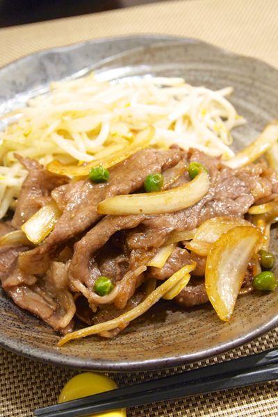 和食】「牛肉と玉ねぎのすき焼き風炒め」で晩ごはん。 by きちりー ...