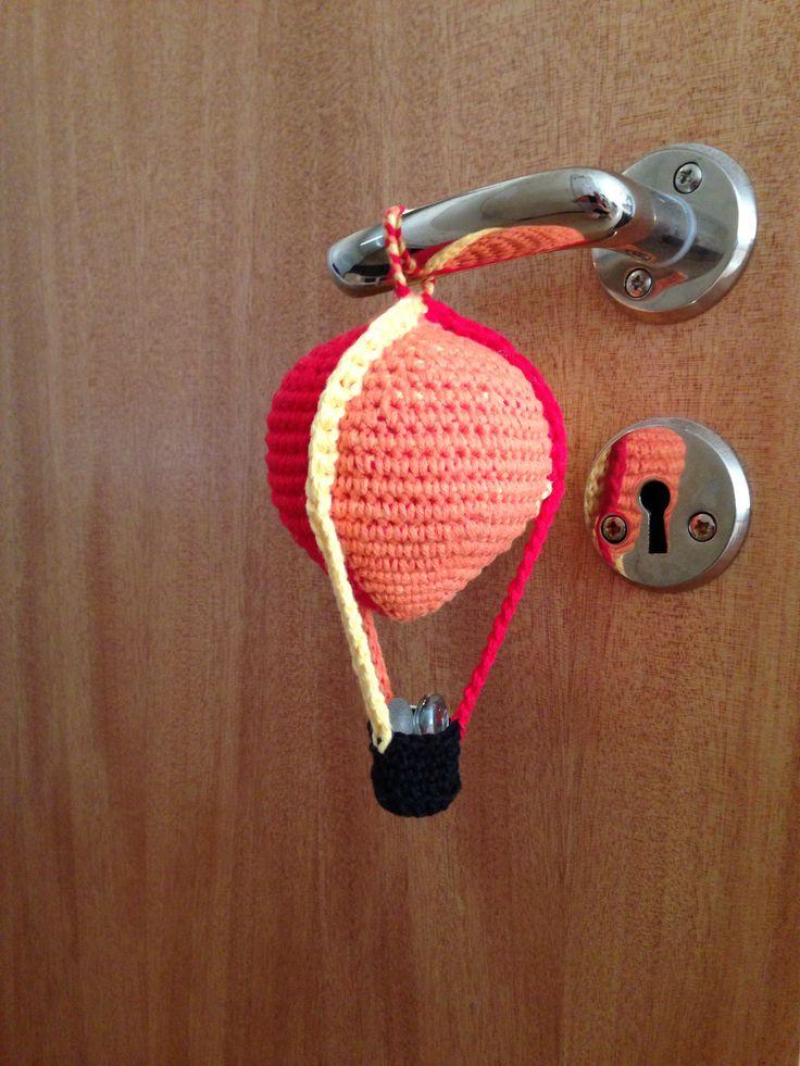 hot air balloon crochet