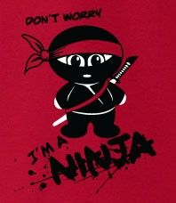 This Awesome Tshirt is exclusive to ninjas who stand up to any challenge that comes their way.