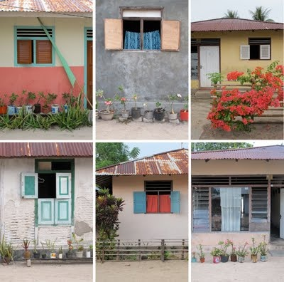 Indonesia island houses