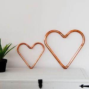 Handmade Copper Heart Decoration