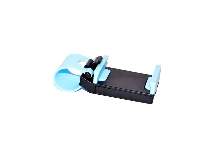 Steer Phone Holder Blue Rp 25.000