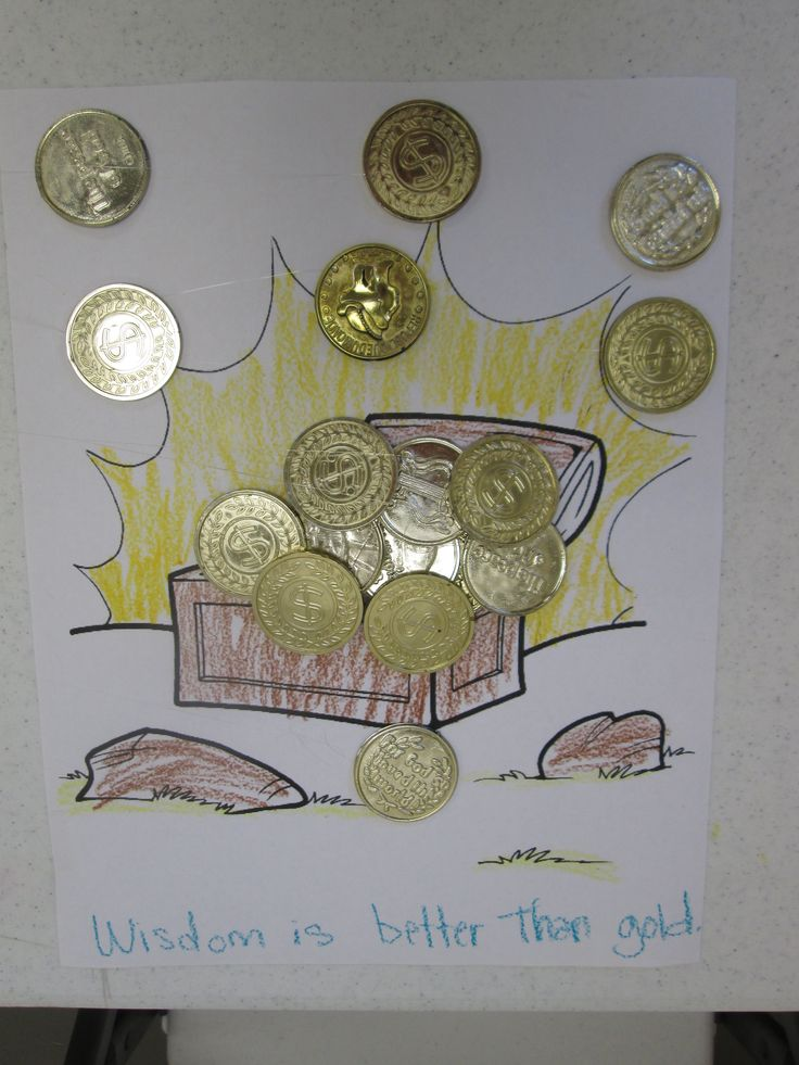 kids crafts for solomon asks for wisdom - Google Search