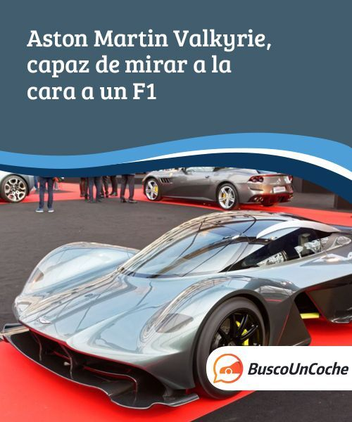 Aston Martin Valkyrie Sport: Aston Martin Valkyrie, Capaz De Mirar A La Cara A Un F1