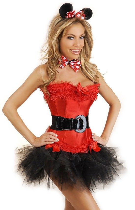 5 PC Miss Mouse Costume - #Halloween #Costume