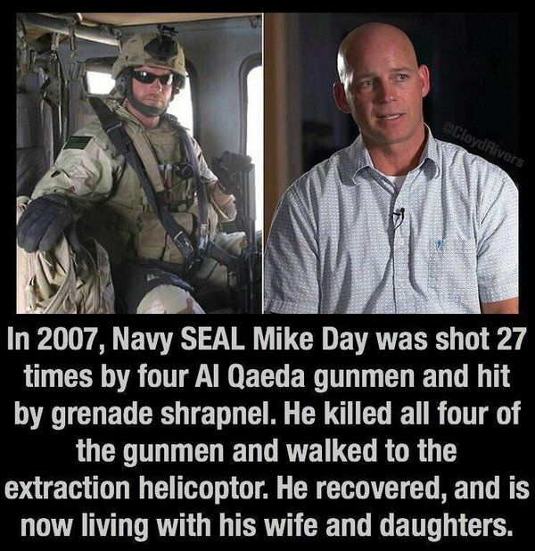 Mike Day, US Navy SEAL