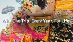 Win A Trip A Year For Life (Exp September 15)